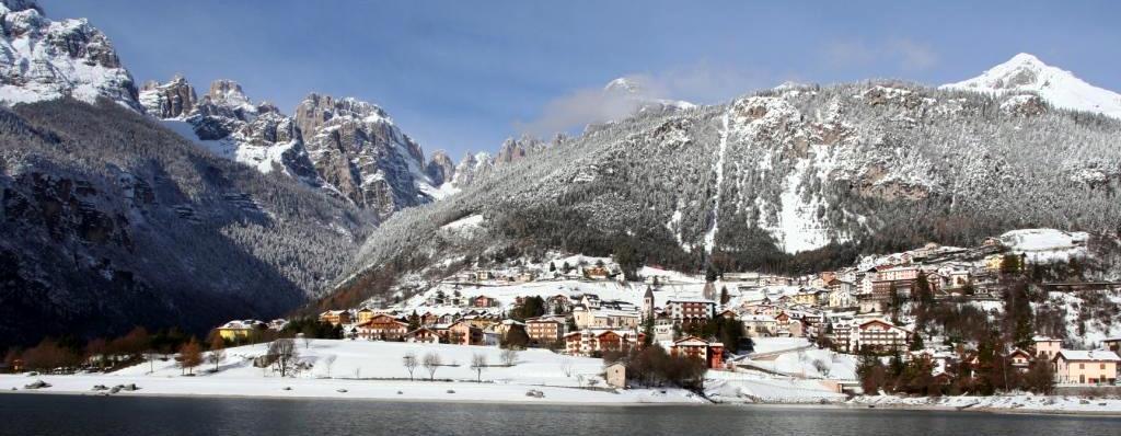 Neve a Molveno
